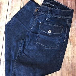 Banana Republic Urban Flared Leg Jeans